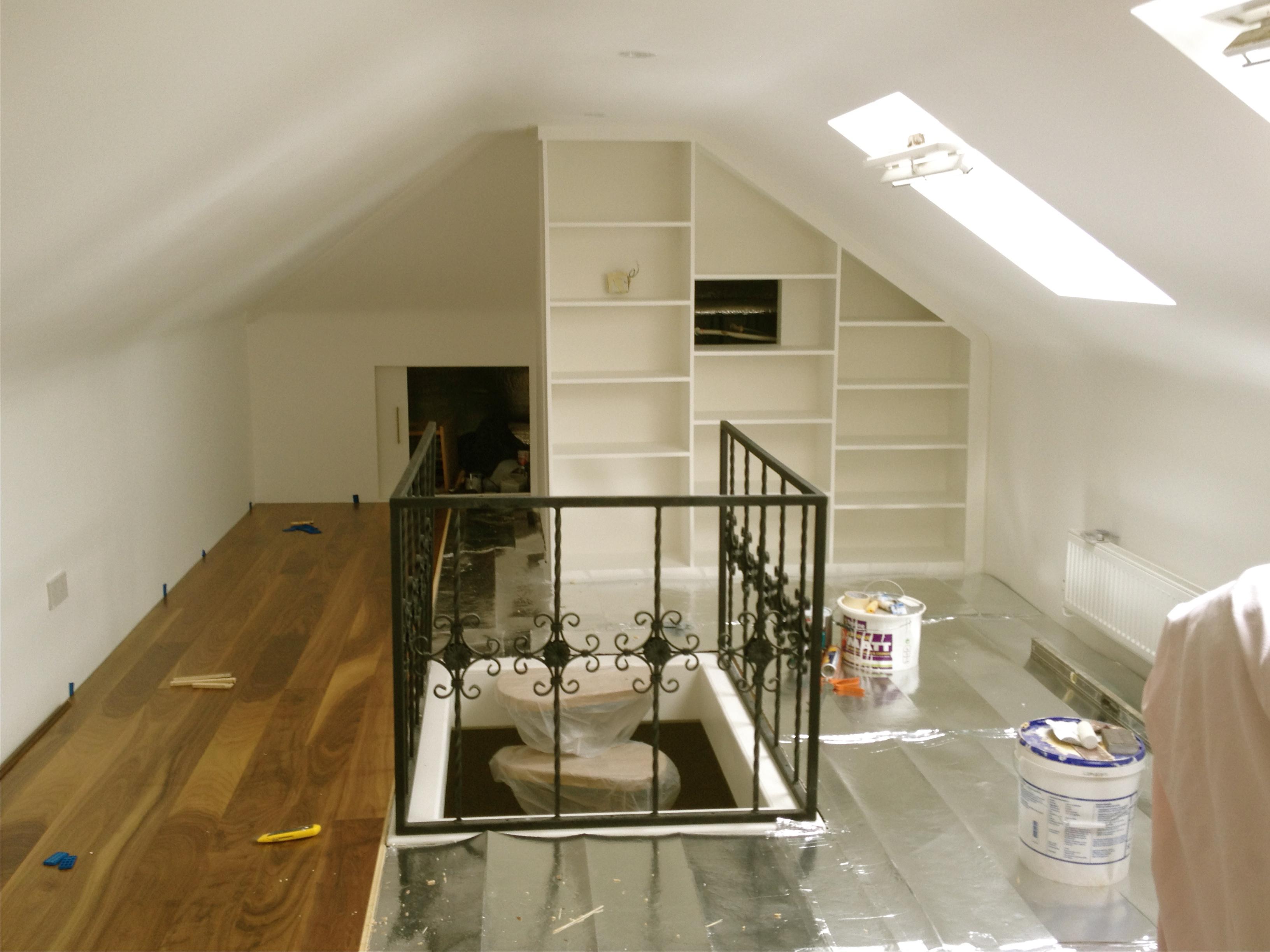 attic amp extension leonardas construction